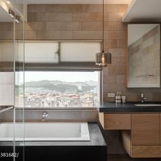 热门108平米三居卫生间混搭装修设计效果图片欣赏