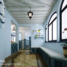 地中海家居室内玄关装修设计图片