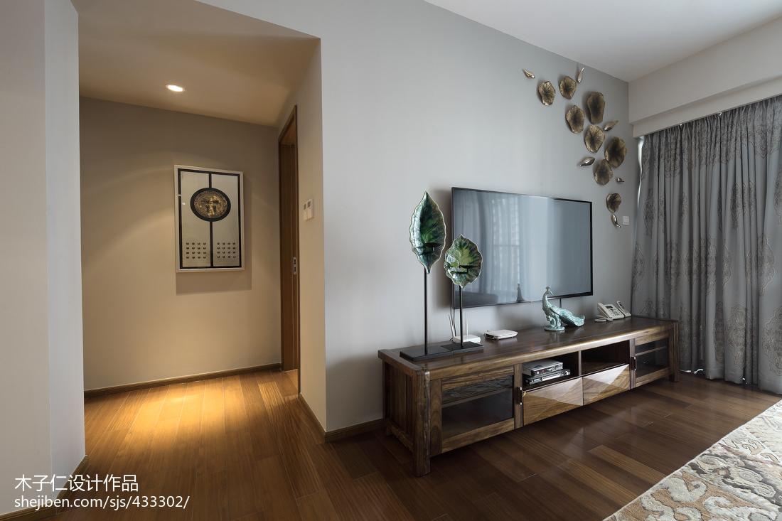 2018精选中式客厅装修图