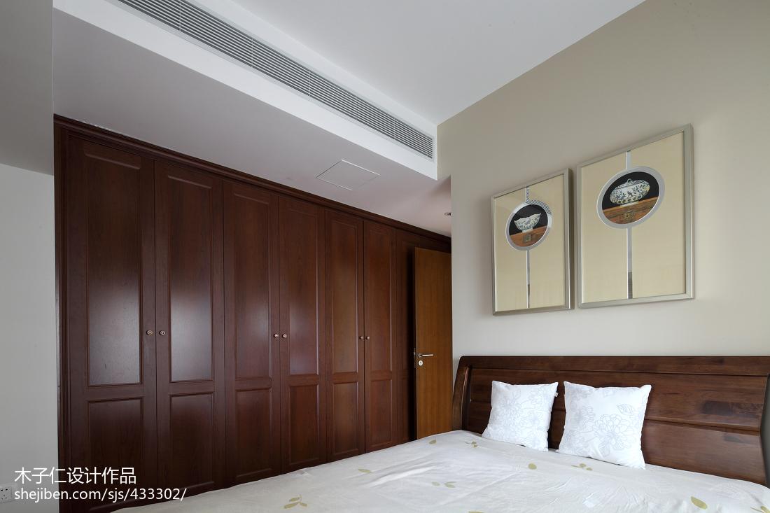 热门卧室中式装修欣赏图片