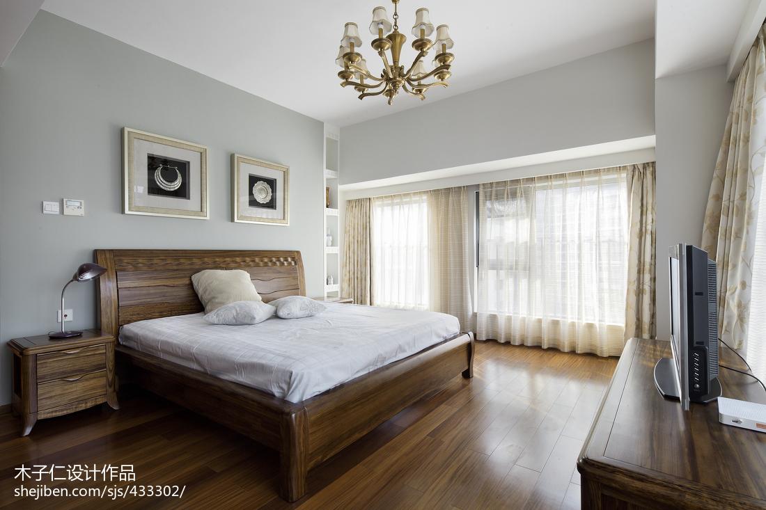 精选卧室中式装修欣赏图片