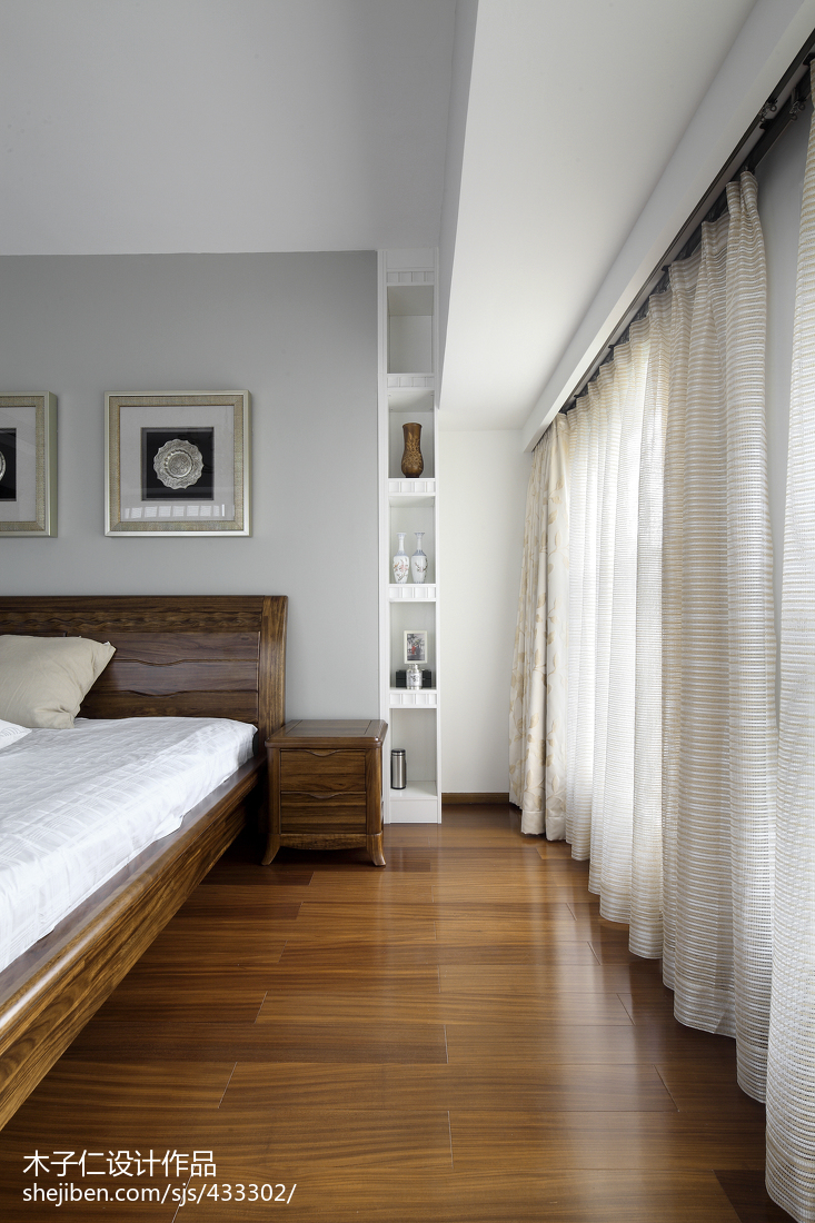 精美中式卧室装修设计效果图片