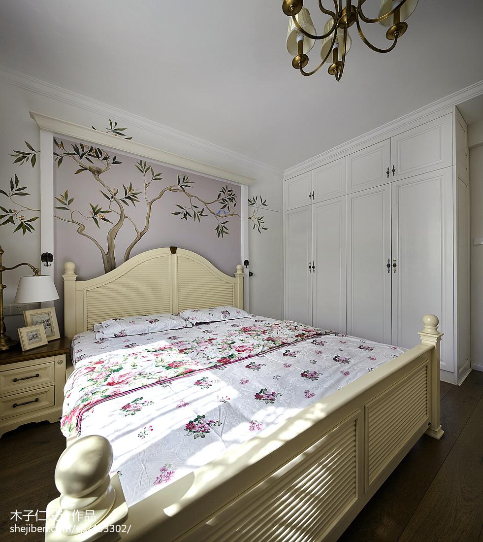 精致276平田园样板间卧室装修图片