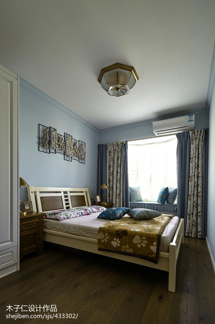 精美田园卧室装修图片欣赏