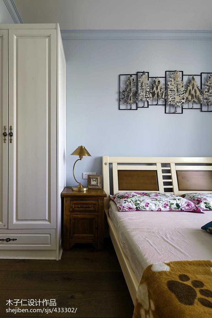 精选田园卧室装饰图片