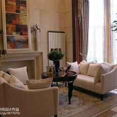 2018138平米欧式别墅客厅装修图片大全