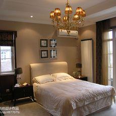 面积110平别墅卧室欧式欣赏图片大全