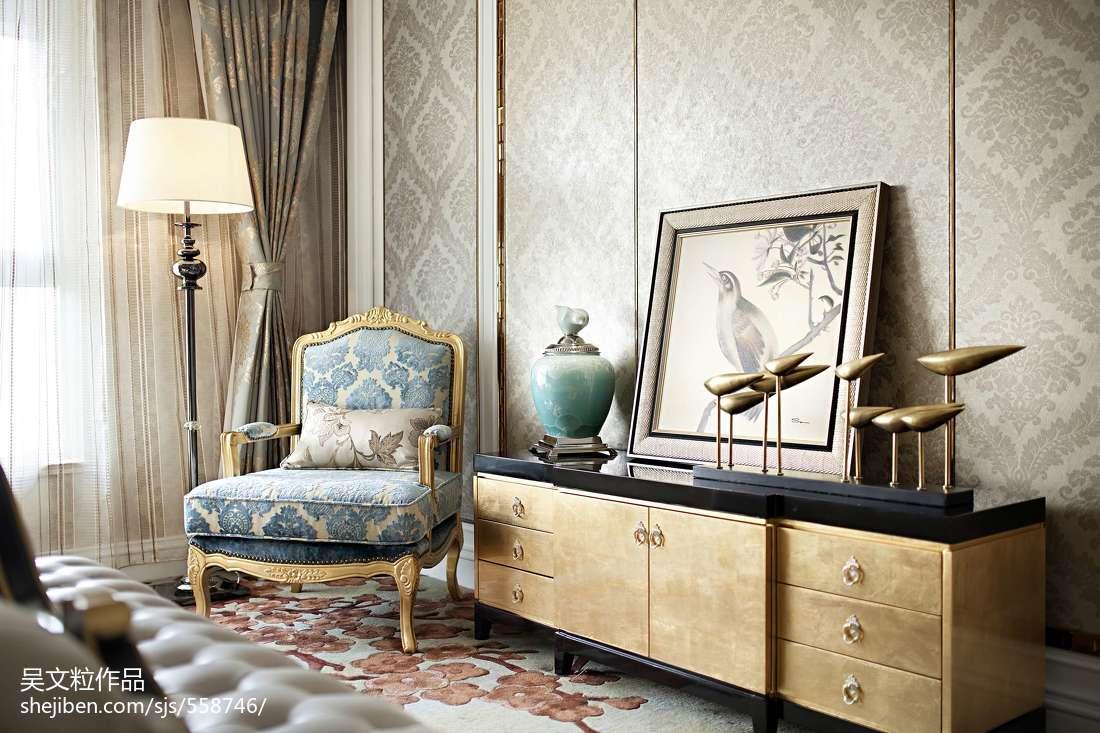 質樸268平現代樣板間客廳裝飾美圖
