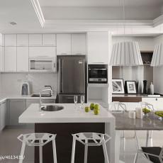 精美76平米二居厨房混搭装修欣赏图片大全
