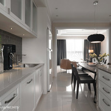 热门106平方三居厨房混搭装饰图片欣赏