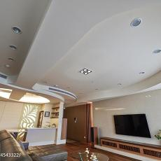 精选大小129平混搭四居客厅效果图片欣赏