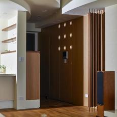 116平方四居客厅混搭设计效果图