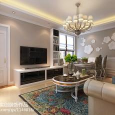 巴洛克风格客厅装饰浮雕图片