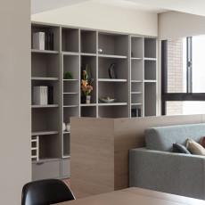 89平方二居客厅混搭装修实景图片欣赏