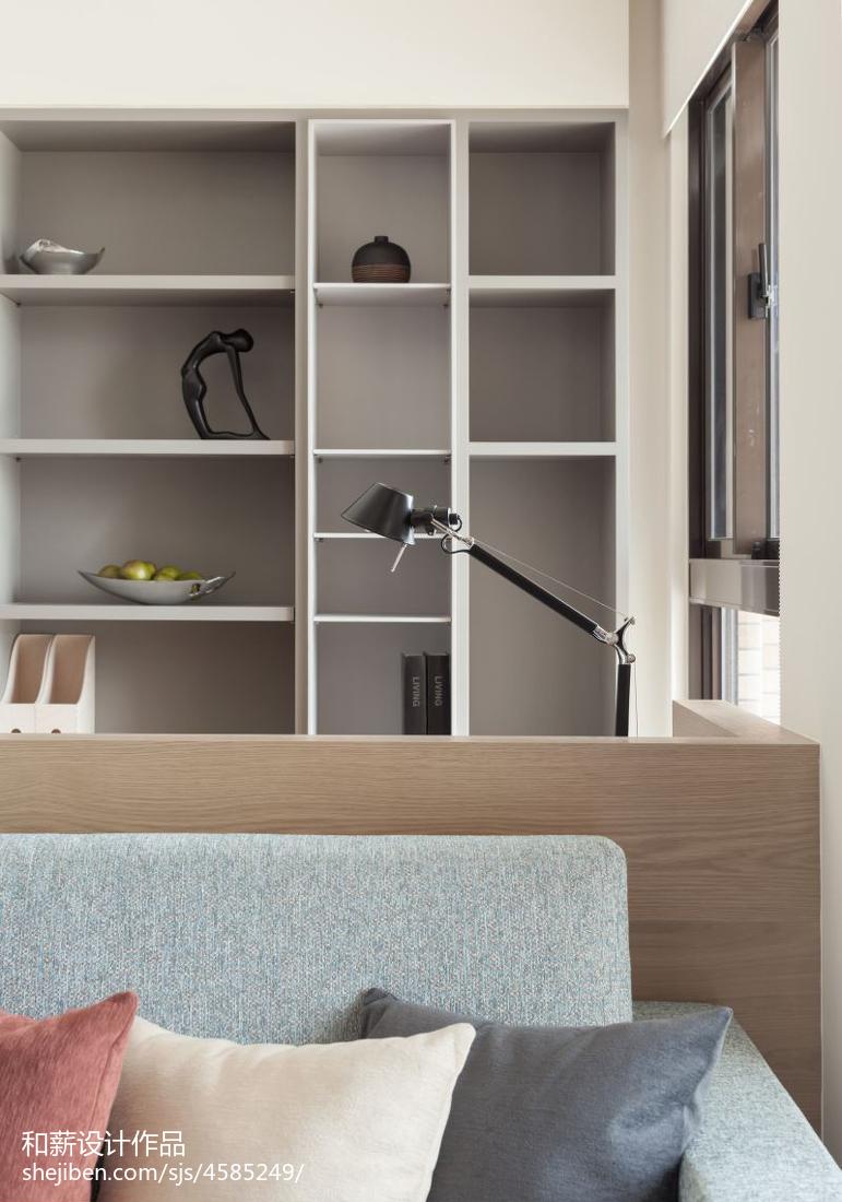 2018精选70平方二居客厅混搭装修效果图
