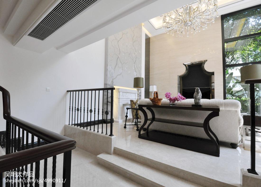现代风格别墅地台装修设计