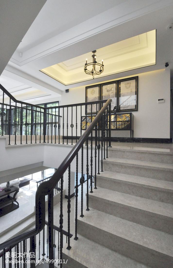 现代风格别墅楼梯装修设计