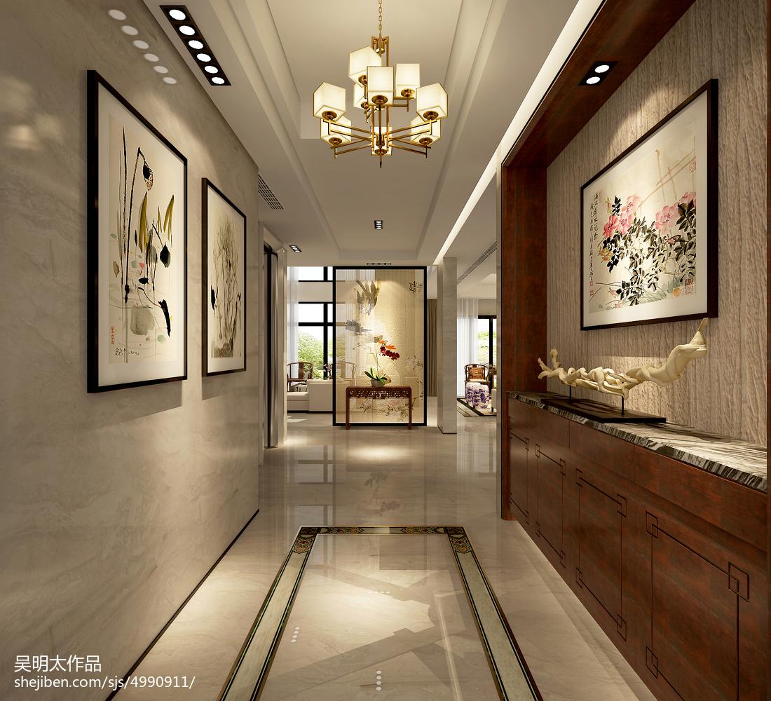别墅中式装修设计效果图汇总欣赏
