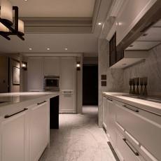 精美109平米三居厨房混搭设计效果图