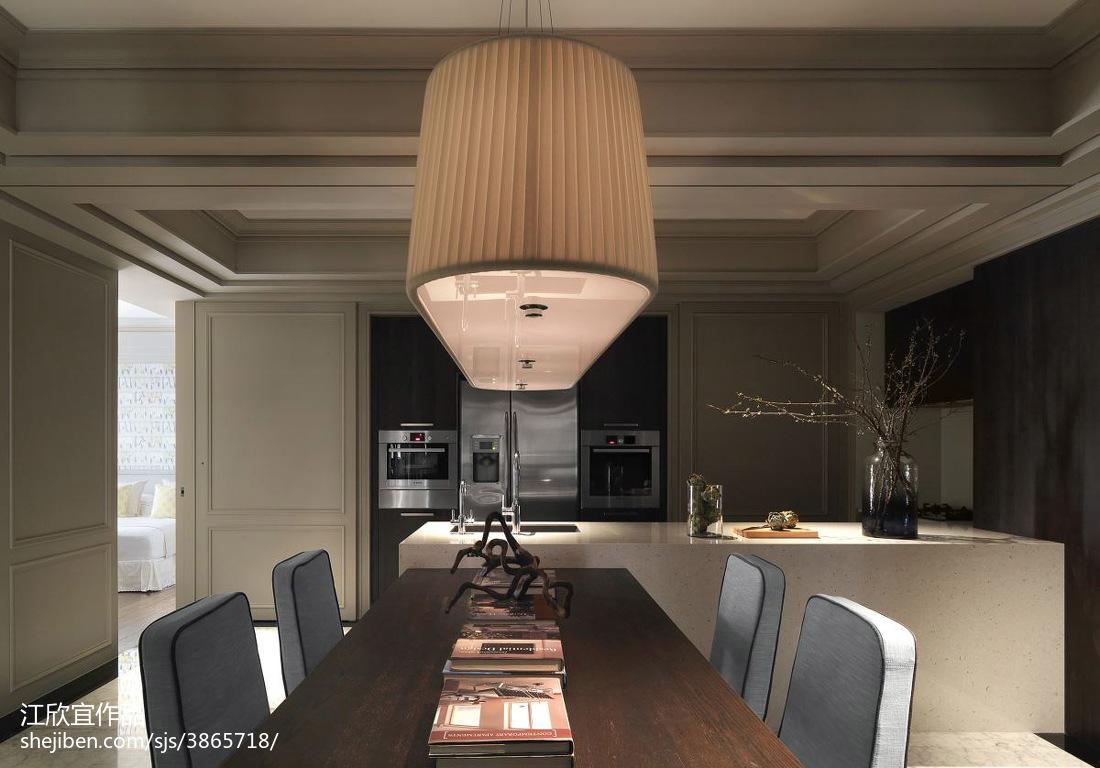 2018新古典二居餐厅欣赏图片大全