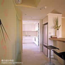 精选94平米三居儿童房混搭装饰图