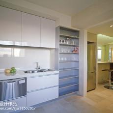 201891平米三居厨房混搭装修设计效果图片欣赏