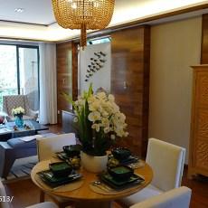 东南亚客厅装修设计效果图