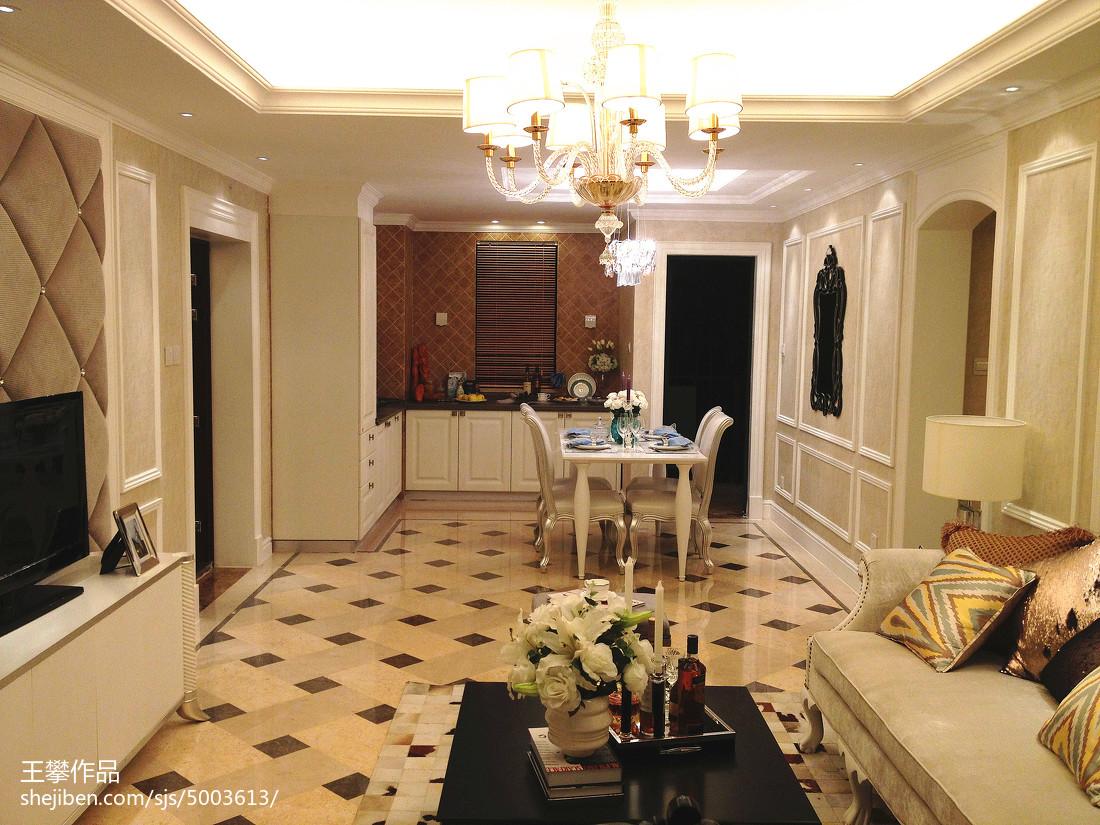 欧式客厅地砖装修效果图