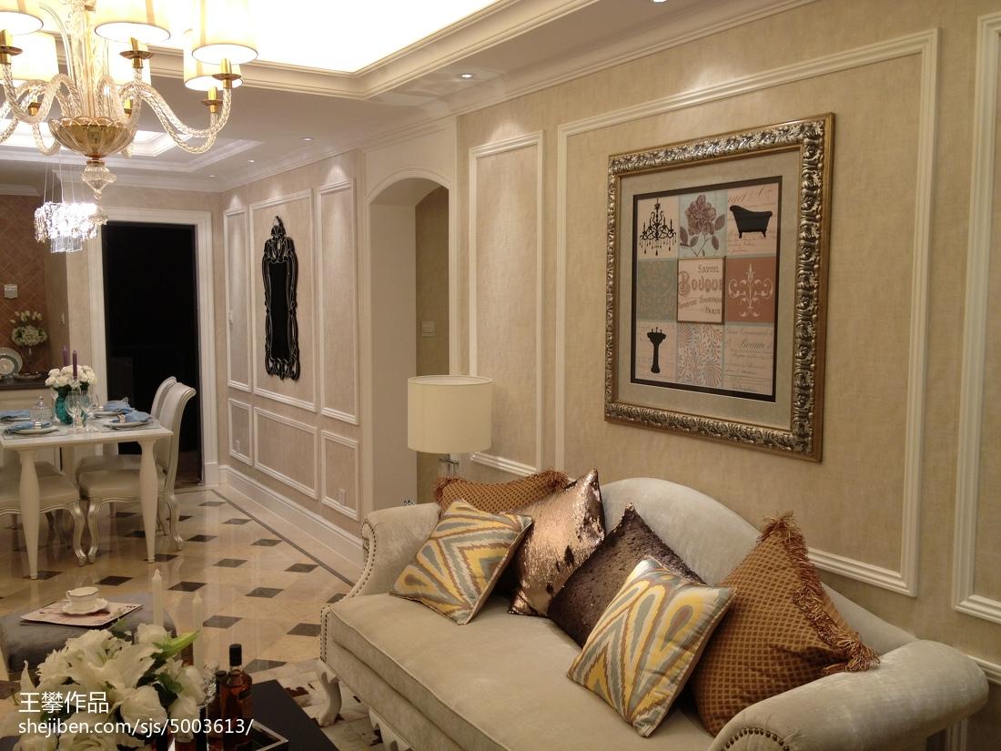 欧式客厅装饰画效果图