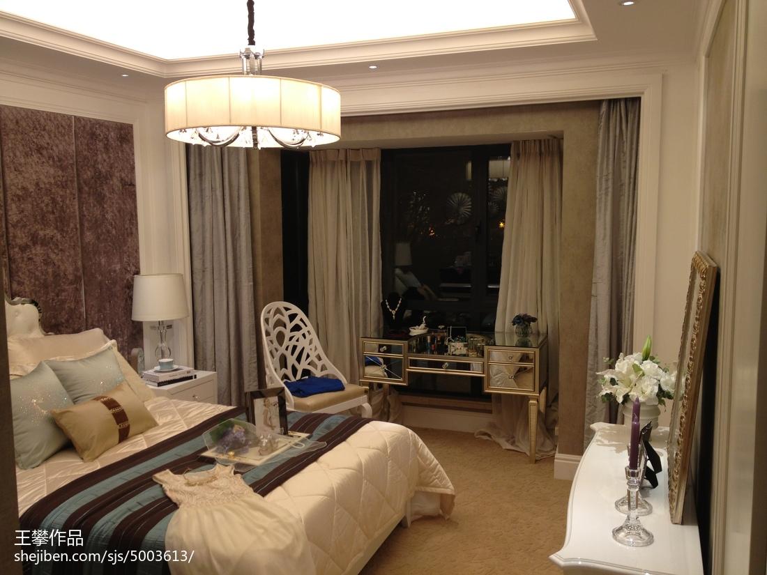 欧式卧室装潢