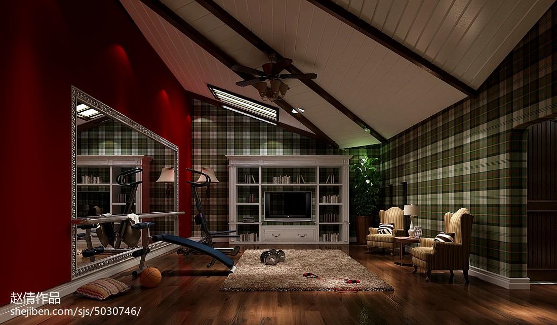 2018别墅美式装修设计效果图片