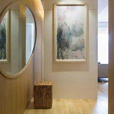 精选73平米现代小户型玄关装修设计效果图片
