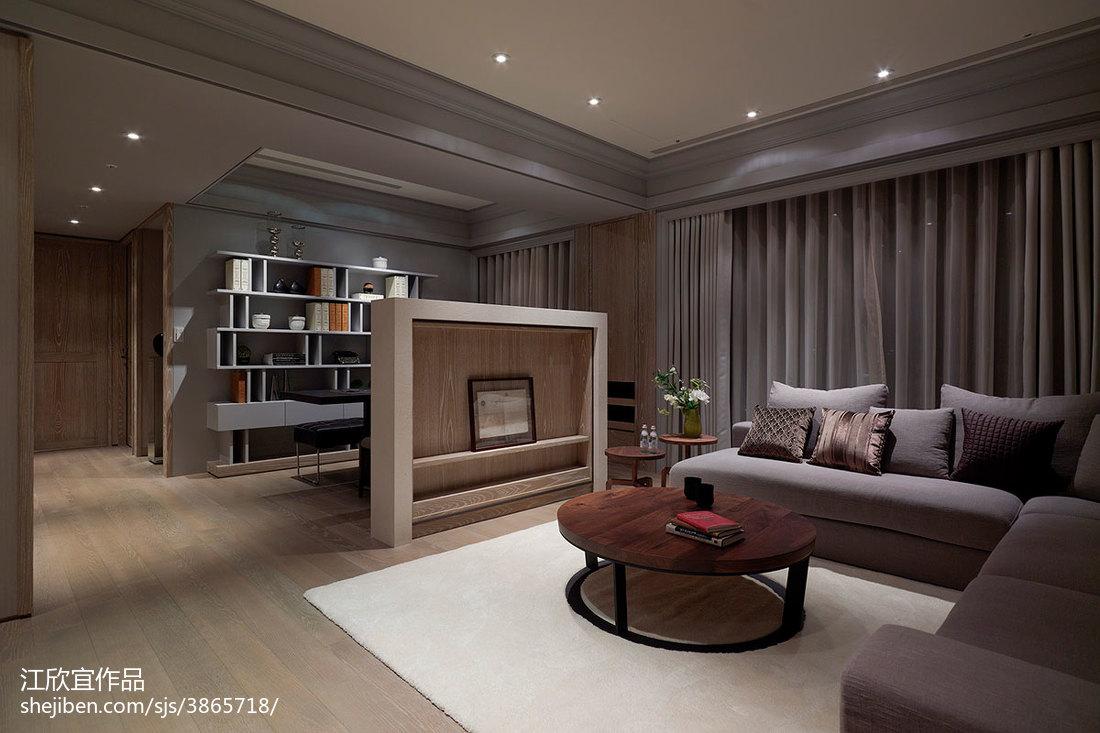精选83平米二居客厅混搭装修实景图