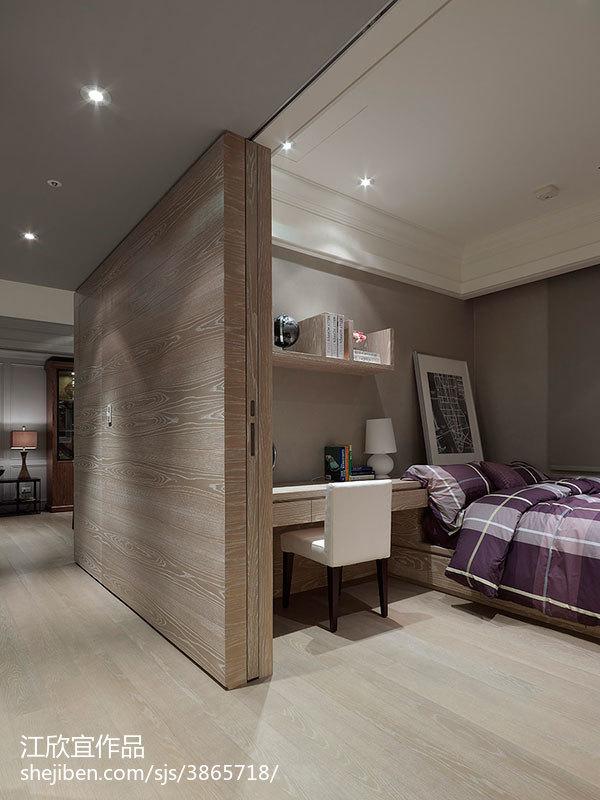 精美混搭二居卧室装修效果图片