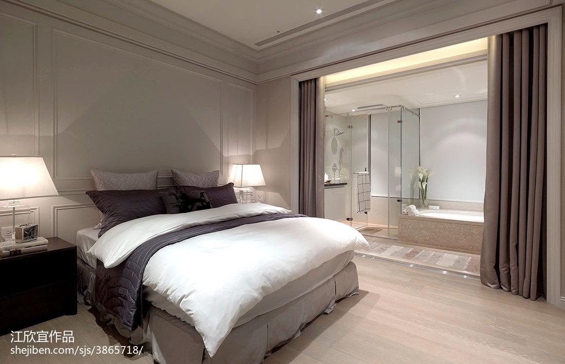 精美面积72平混搭二居卧室装修实景图片大全