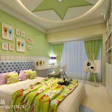 精选四居儿童房中式装修欣赏图片