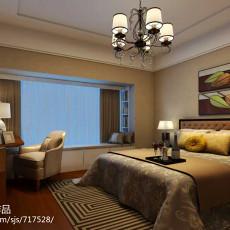 精选面积139平中式四居卧室装饰图片大全