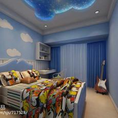精选中式四居儿童房装修效果图片