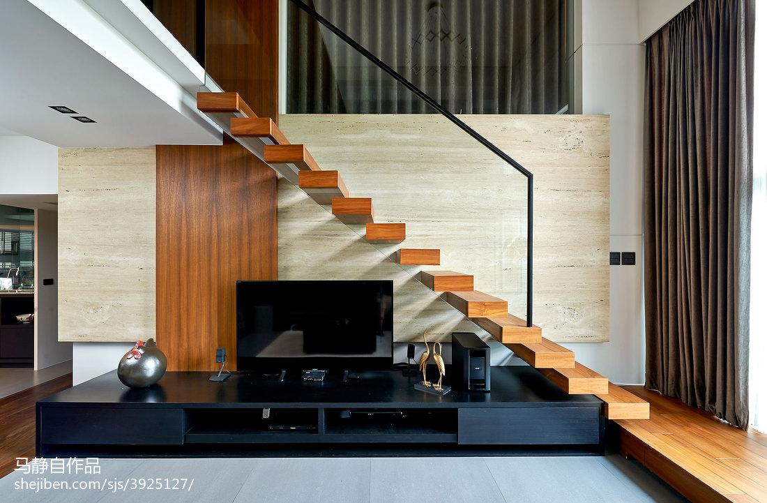 loft混搭楼梯设计