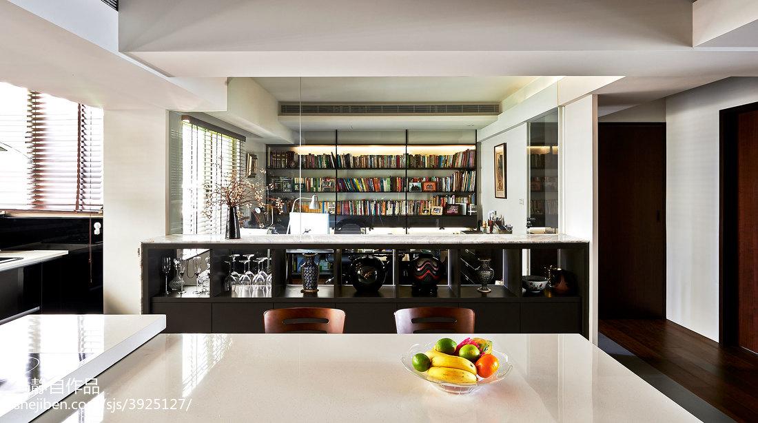 79平米二居餐厅混搭实景图