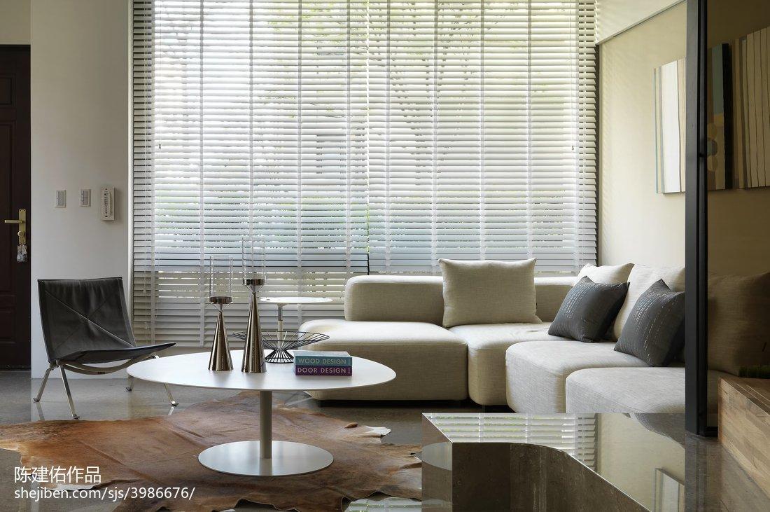 精美111平米四居客厅现代装饰图片欣赏