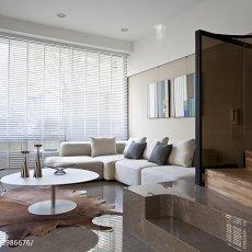 精美面积118平现代四居客厅装修效果图