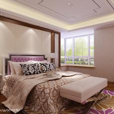 热门欧式三居卧室装修图