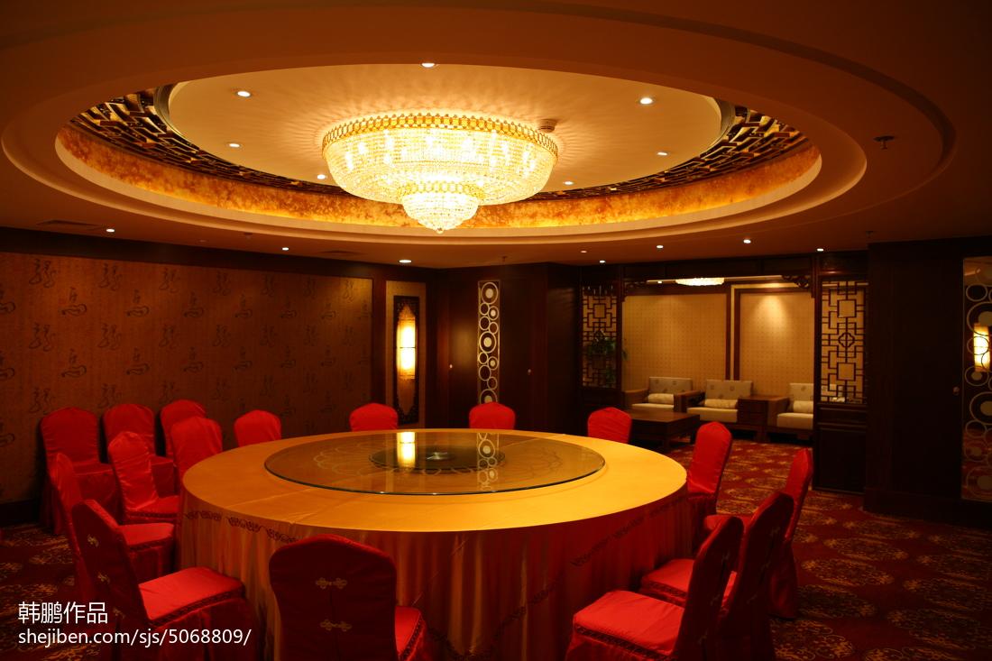 美式室内餐厅设计装修效果图片
