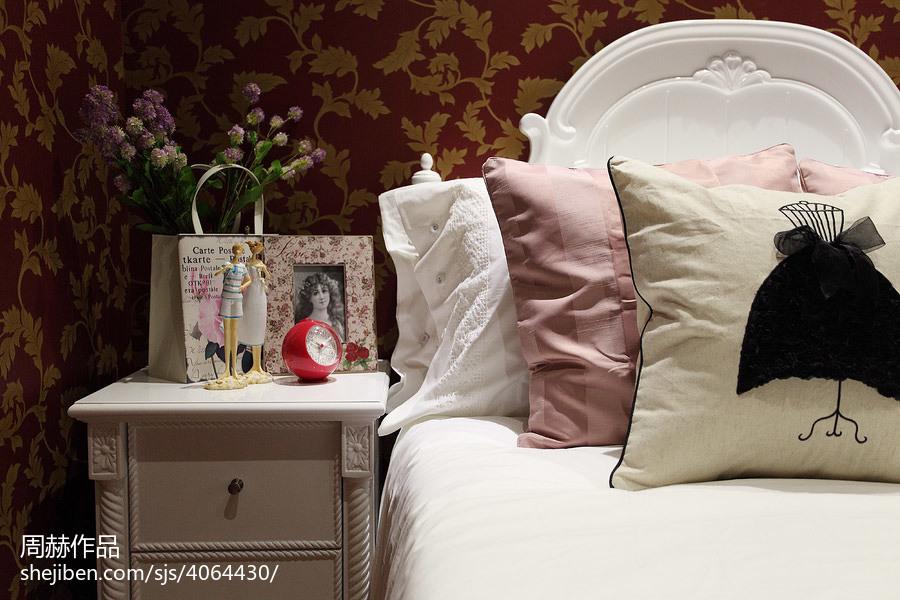 2018卧室欧式装修设计效果图片欣赏