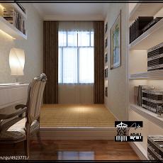 精美97平米三居书房欧式装修欣赏图