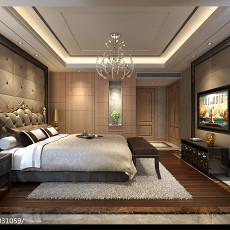 精选面积127平别墅卧室新古典装饰图片