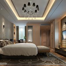 热门面积112平别墅卧室新古典装修图片大全
