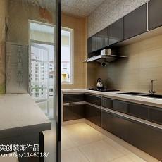 2018精选84平米二居厨房现代装修效果图