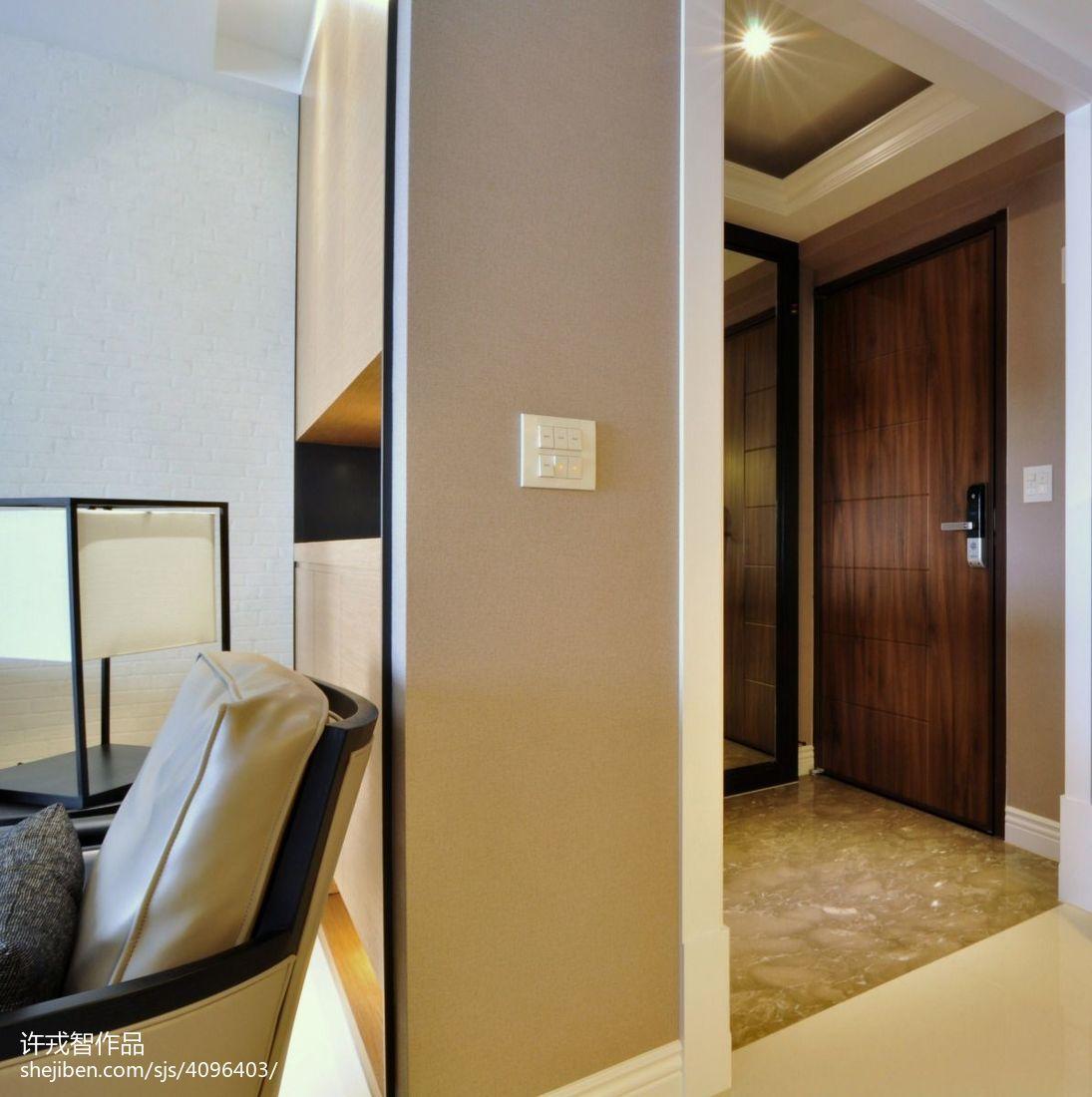 精美91平米3室客厅混搭装饰图